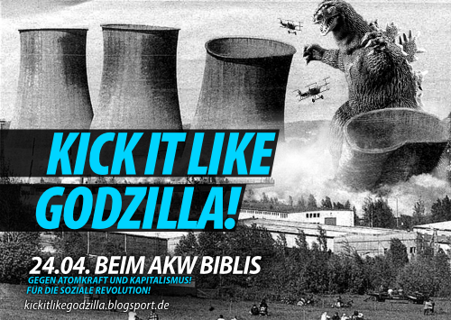 Kick it like Godzilla!